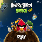 Angry Birds Space Bike játék
