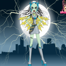 Frankie-Stein-as-Voltageous-monster-high-jatek