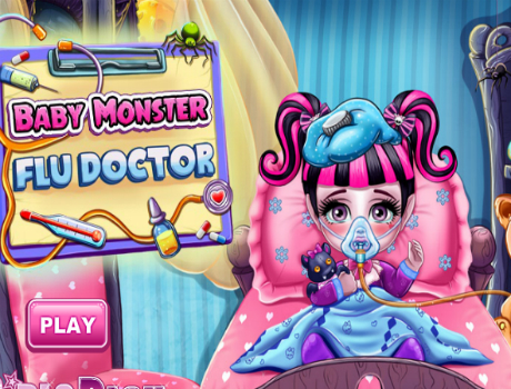 Draculaura-baba-beteg-monster-high-jatek