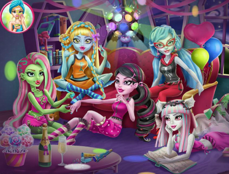 pizsama-parti-monster-high-jatek